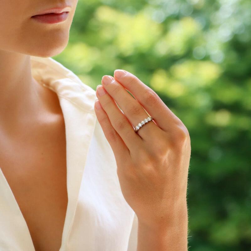 Vintage Five Stone Diamond Ring