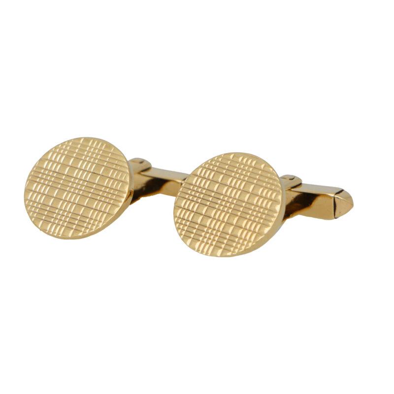 Vintage Kutchinsky Circular Swivel Cufflinks