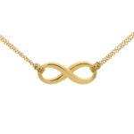 Vintage Tiffany & Co. Infinity Pendant Necklace