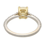 Vintage Tiffany & Co. 'Novo' Fancy Intense Yellow Diamond Ring