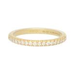 Vintage Tiffany & Co. Soleste Half Eternity Ring