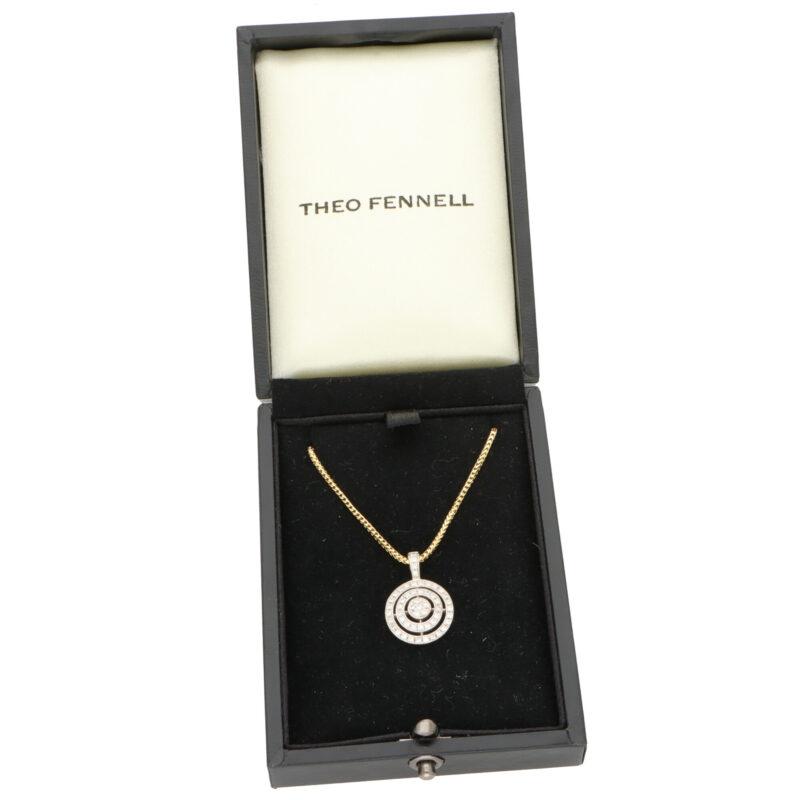Vintage Theo Fennell Diamond Pendant