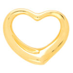 Vintage Elsa Peretti for Tiffany & Co. Open Heart Pendant