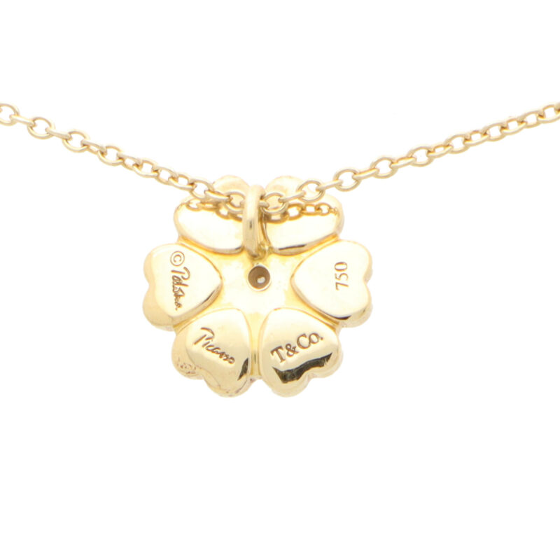 Vintage Paloma Picasso Tiffany & Co. Crown of Hearts Pendant