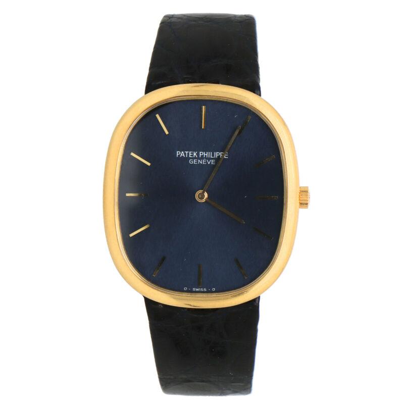 18 carat gold Patek Phillippe Golden Ellipse wrist watch