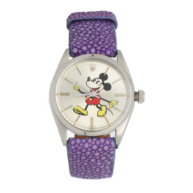 Vintage Rolex Mickey Mouse wrist watch