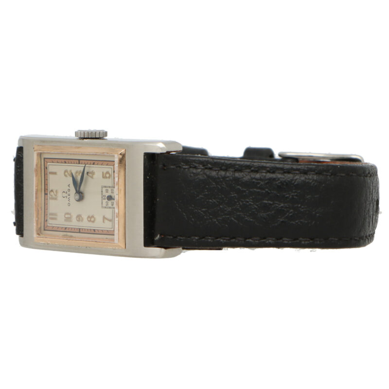 Vintage Art Deco Omega wrist watch