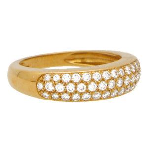 Vintage Van Cleef & Arpels Diamond Band Ring