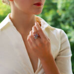 Vintage Cartier Meli Melo Semi Precious Dress Ring