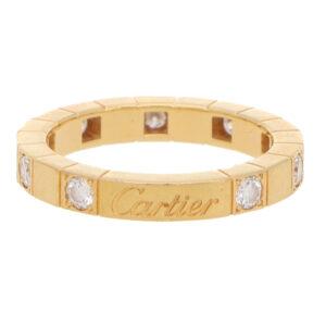 Vintage Cartier Lanières Diamond Eternity Band Ring