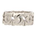 Vintage Cartier 'C de Cartier' Band Ring