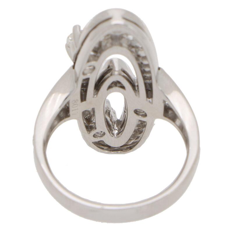 Vintage Bvlgari Elisia Diamond Cocktail Ring