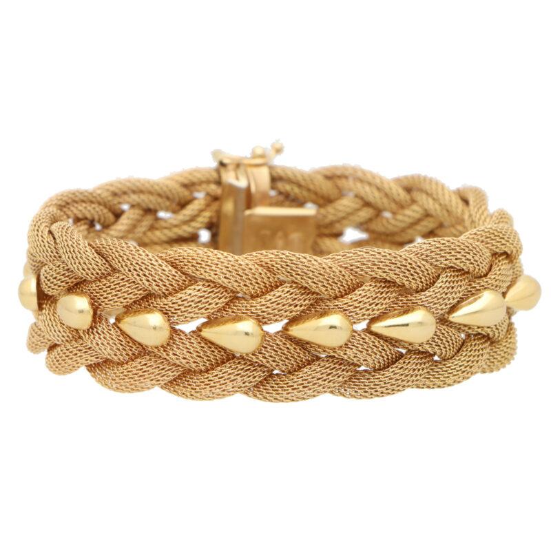 Vintage Woven Rope Bracelet