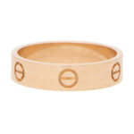 Vintage Cartier Love Ring in Rose Gold Size 64