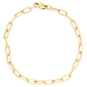 Vintage Cartier Open Link Chain Bracelet
