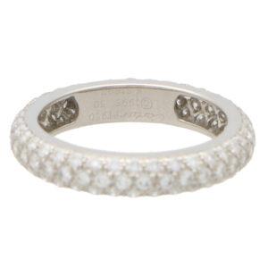 Vintage Cartier Mimi Full Eternity Ring
