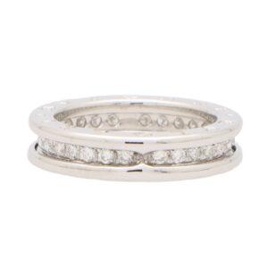 Vintage Bvlgari B.Zero1 Diamond Band Ring