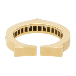 Vintage Cartier 'Flat C' Diamond Ring